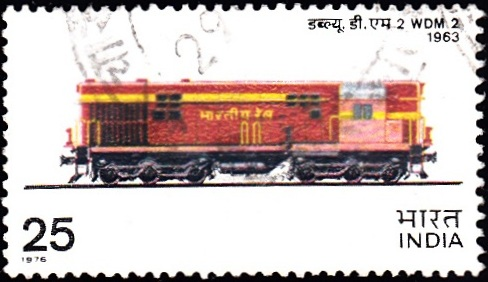 1. WDM2, Diesel B.G. Locomotive [Indian Locomotive]