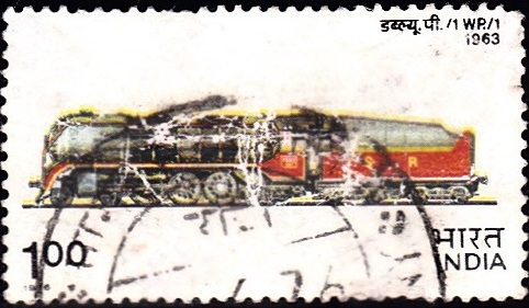 684 WP.-1, B.G. Steam Locomotive [Indian Locomotive]