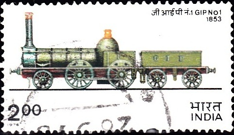 685 GIP No. 1, Steam Locomotive [Indian Locomotive]