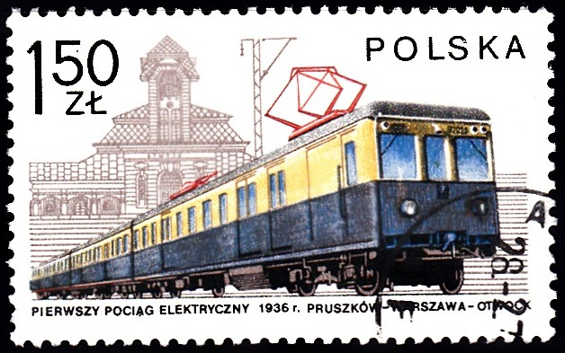 4. Electric Train & Otwock Station [Locomotives in Poland]