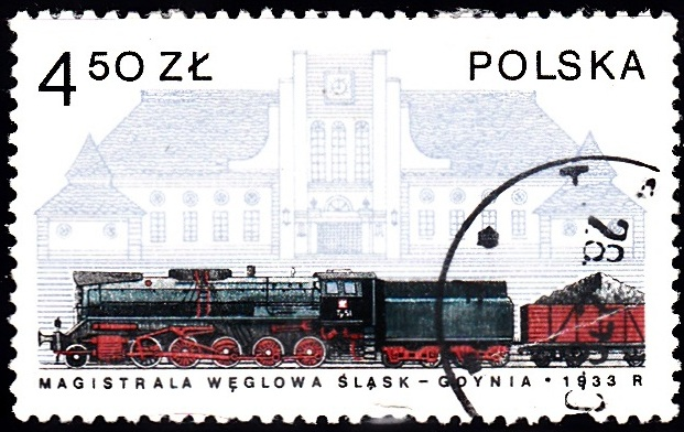 6. Ty51 Coal Train & Gdynia Station [Locomotives in Poland]