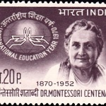India on Dr. Maria Montessori
