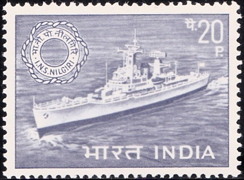 475 I.N.S. Nilgiri [Navy Day 1968]