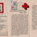 India on Red Cross Centenary on 1963