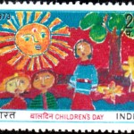 India on Children's Day 1973