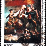 India on American Revolution Bicentennial