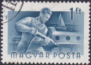 11 Riveter [Hungary Stamp 1955]