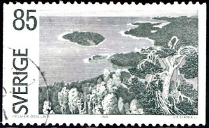 1166 View from Ringkallen, by Helmer Osslund [Views in Angermanland Province]