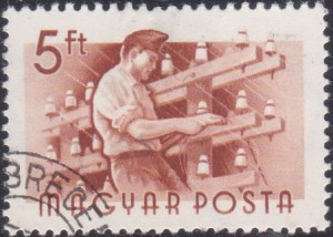 19 Lineman [Hungary Stamp 1955]