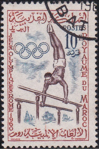 46 Gymnast [Olympic Games 1960, Rome]