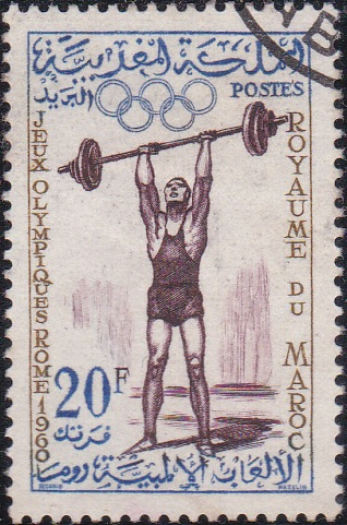 48 Weight lifter [Olympic Games 1960, Rome]