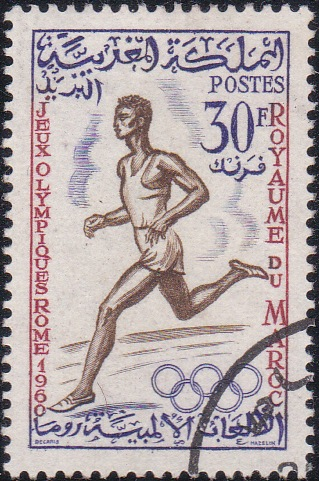 49 Runner [Olympic Games 1960, Rome]