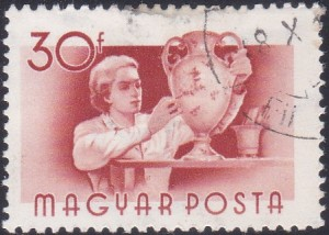 5 Woman Potter [Hungary Stamp 1955]