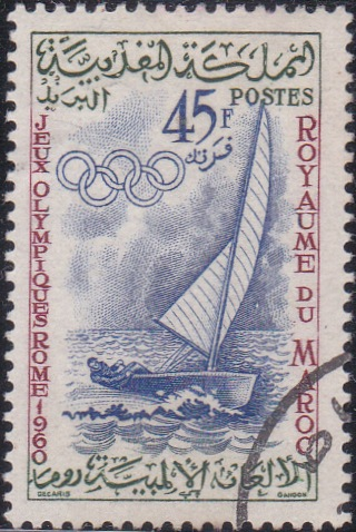51 Sailboat [Olympic Games 1960, Rome]