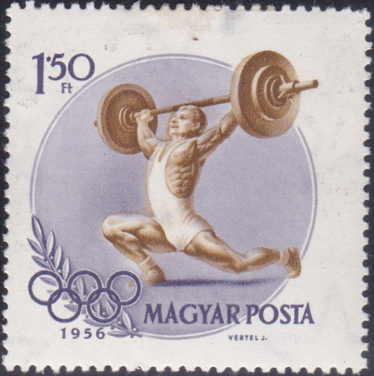 6 Weight Lifting [Olympic Games 1956, Melbourne]