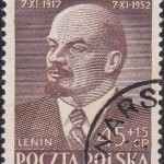 Poland on Lenin 1952