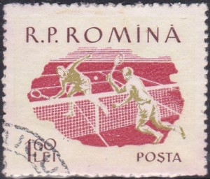 1295 Tennis [Romania Stamp]