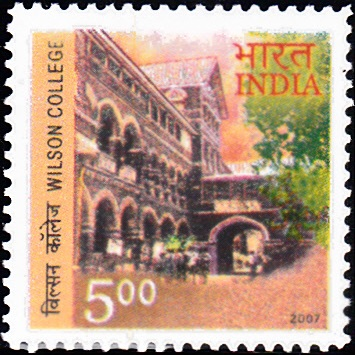 2324 Wilson College [India Stamp]