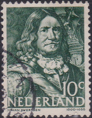 253 Johan Evertsen [Netherlands Stamp]