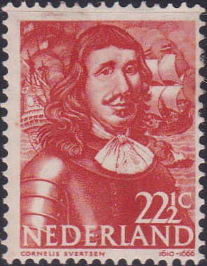 258 Cornelis Evertsen [Netherlands Stamp]