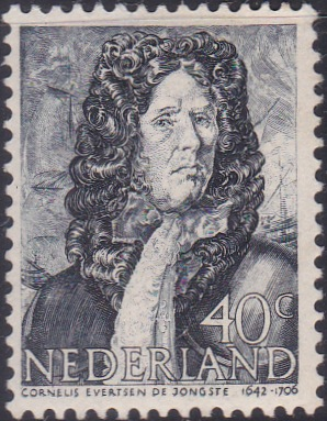 261 Cornelis Evertsen de Jongste [Netherlands Stamp]