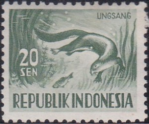 427 Otter [Animals Stamp]