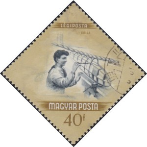 C149 Model Glider Construction [Hungary Stamp]