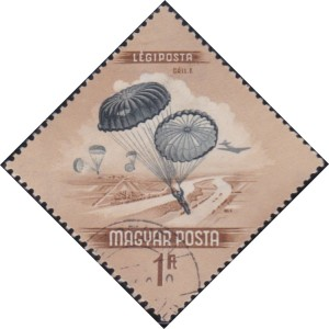 C153 Parachutists [Hungary Stamp]