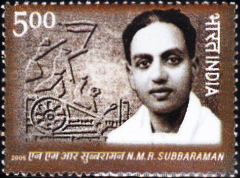 2164 N.M.R. Subbaraman [India Stamp 2006]