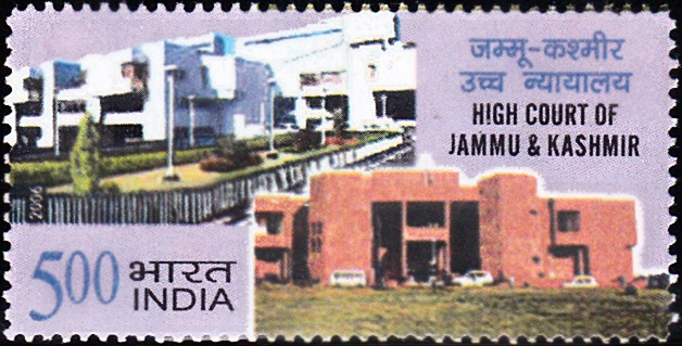 2196 High Court of Jammu & Kashmir [India Stamp 2006]