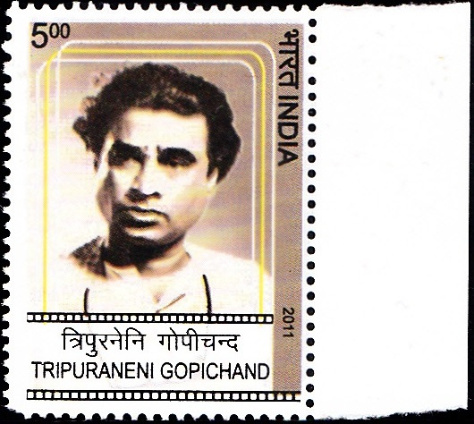 2720 Tripuraneni Gopichand [India Stamp 2011]