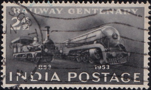 307 Railway Centenary [India Stamp 1953]