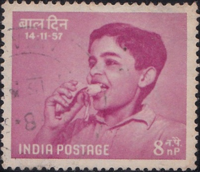 324 Nutrition [India Stamp 1957]