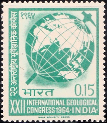 410 International Geological Congress [India Stamp 1964]