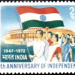 India on Independence 1972