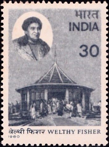 813 Welthy Fisher [India Stamp 1980]