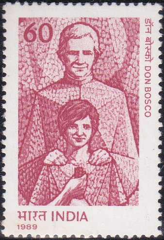 1189 Don Bosco [India Stamp 1989]