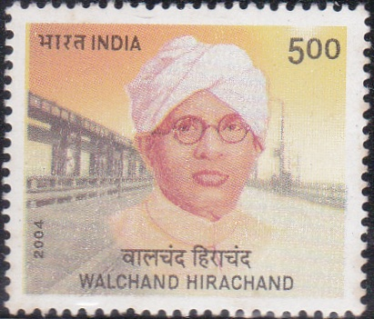 2091 Walchand Hirachand [India Stamp 2004]