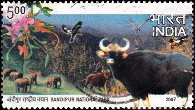 2273 Bandipur National Park [India Stamp 2007]