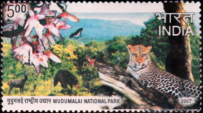 2274 Mudumalai National Park [India Stamp 2007]