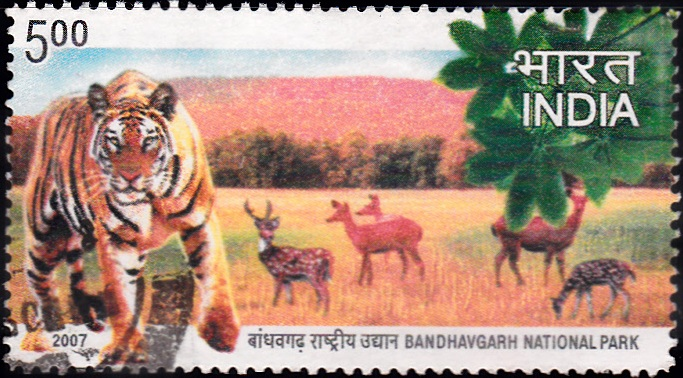 2275 Bandhavgarh National Park [India Stamp 2007]