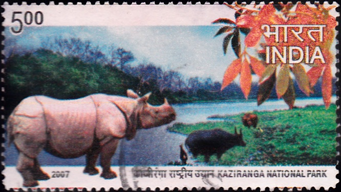 2277 Kaziranga National Park [India Stamp 2007]