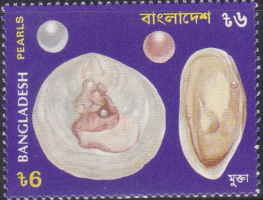 465 Pearls - Sea Shells [Bangladesh Stamp 1994]
