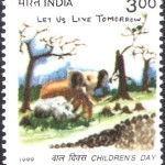 India on Children's Day 1999