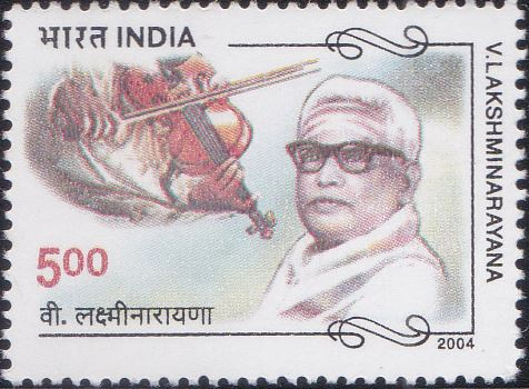 2042 V. Lakshminarayana [India Stamp 2004]