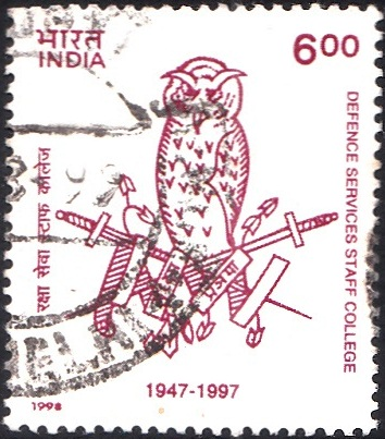 1618 Defence Services Staff College [India Stamp 1998]