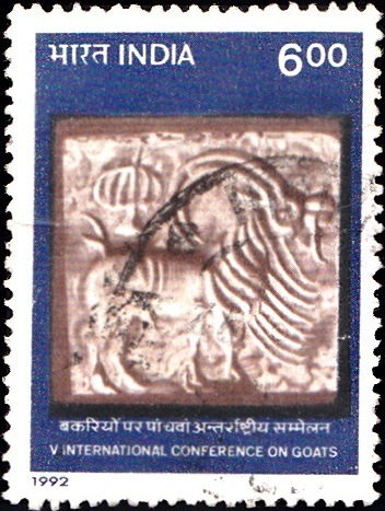 1328 International Conference on Goats [India Stamp 1992]