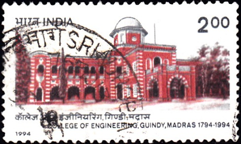 1433 College of Engineering, Guindy, Madras [India Stamp 1994]