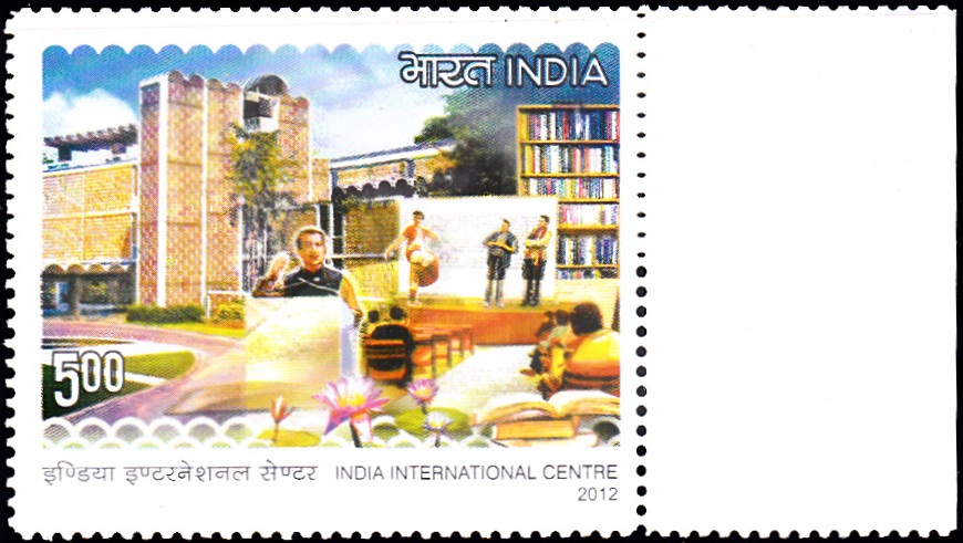 2746 India International Centre [India Stamp 2012]