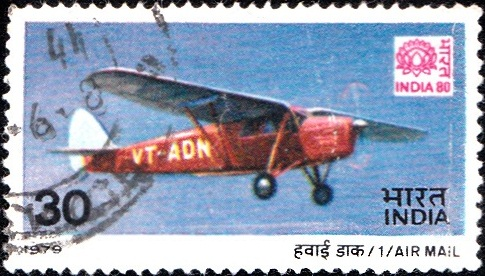 792 Air Mail [India Stamp 1979]